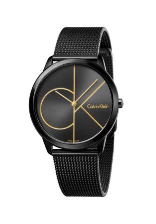 Calvin Klein Minimal系列PVD黑腕表 NT 9,100