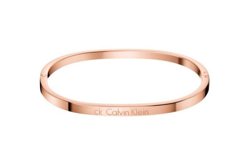 Calvin Klein Hook系列 PVD玫瑰金手環 NT 3,400