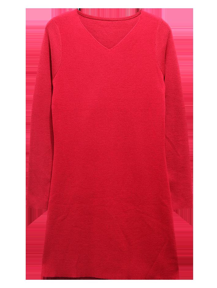 KeyWear_純羊毛長版針織上衣_$4,980