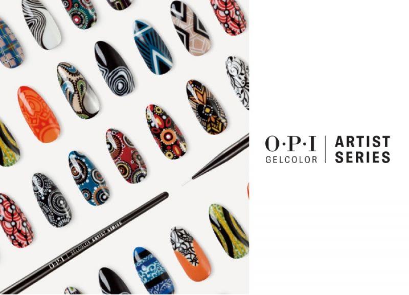 OPI Gelcolor Artist Series藝術家膠糖光繚系列,12款新色 6ml/ $1,600