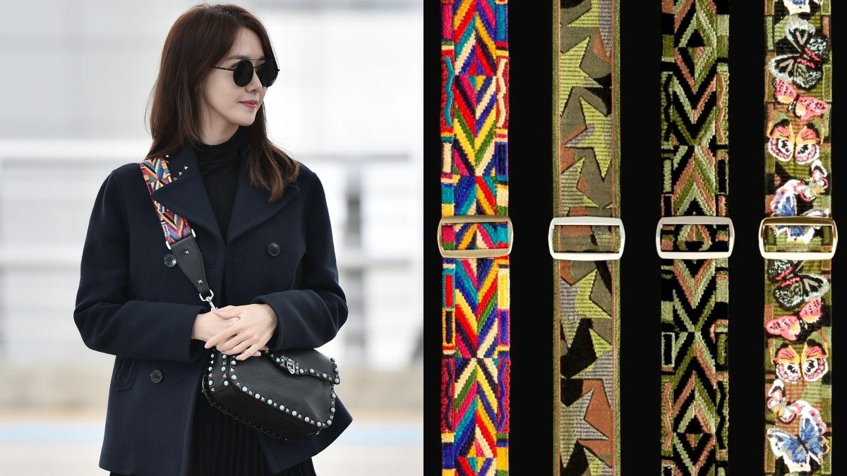 寬背帶包包正夯!Valentino推出客製化刺繡背帶服務
