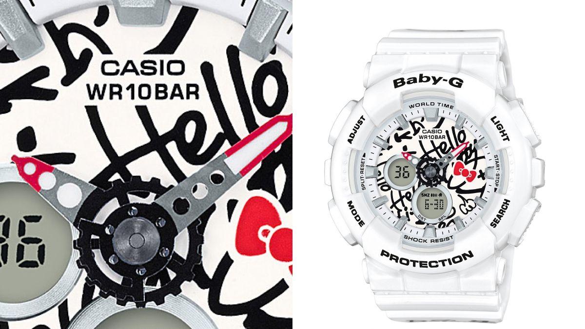 少女心又燃燒了!BABY-G x HELLO KITTY推出夢幻塗鴉聯名手錶
