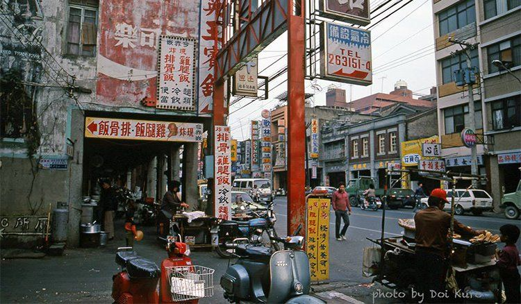Grilled corn stall 台南1984