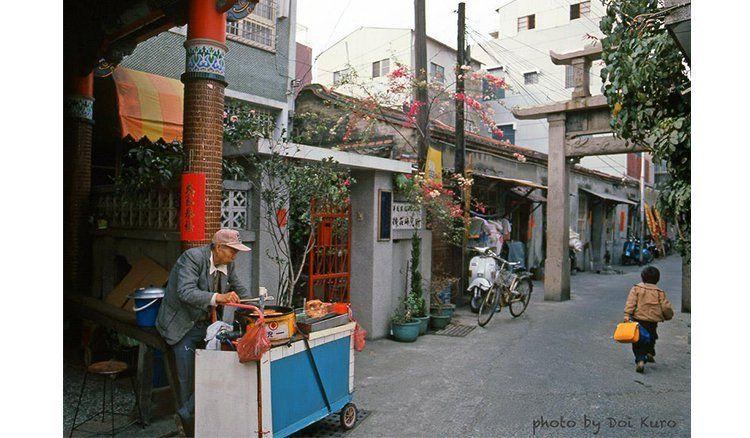 Street stall 台南1984