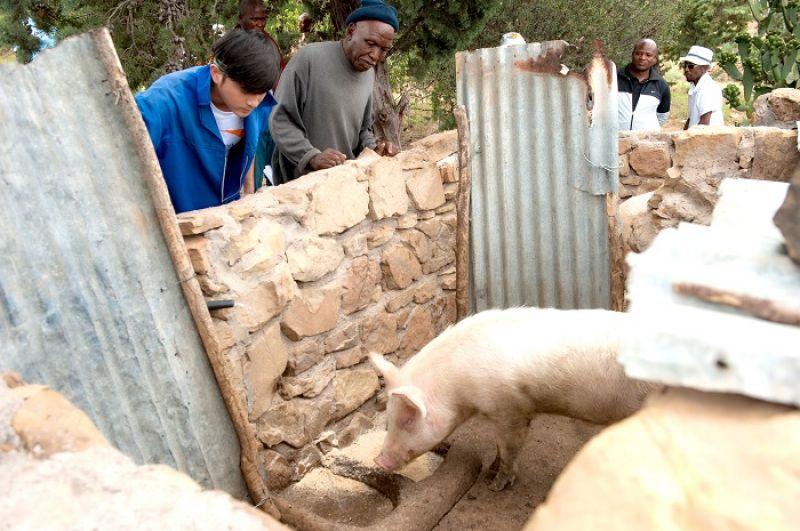 「勒拉雷拉養豬團體」的故事,讓宥勝特別感動,「他們在一無所有的時候受到幫助,現在成功了,也會發心去幫助那些原本跟自己一樣的人。」