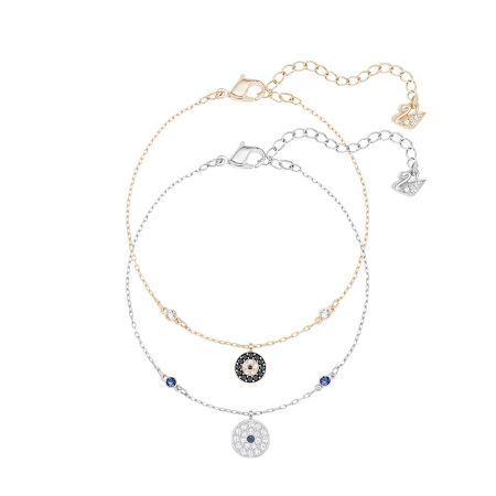 Crystal Wishes Evil Eye 手鏈 套裝, 藍色 NT$ 4,490