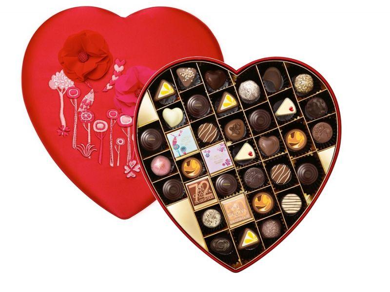 浪漫心形巧克力禮盒36顆裝 NT$6850