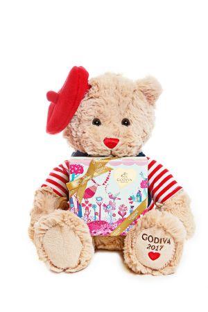 情人節小熊連巧克力禮盒5顆裝 NT$1800