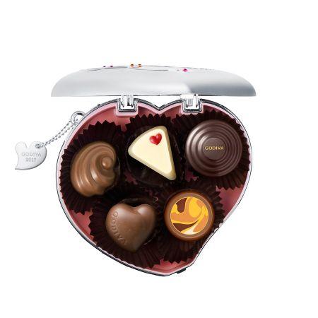 情人節心心相印巧克力禮盒5顆裝 NT$1700