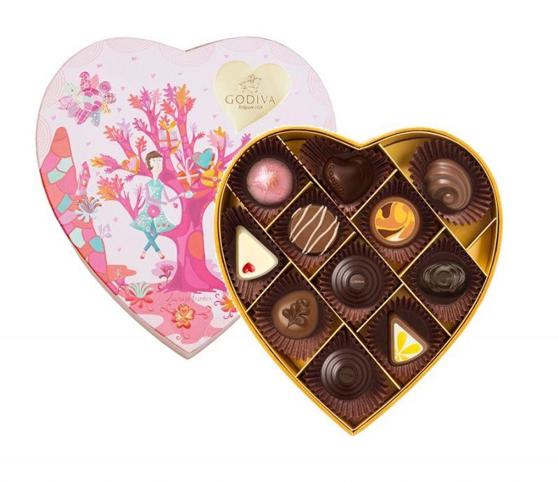 情人節巧克力心形禮盒11顆裝 NT$1800