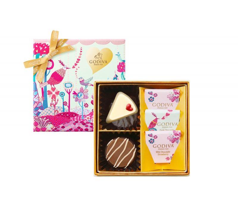 情人節巧克力禮盒5顆裝 NT$ 600