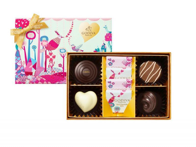 情人節巧克力禮盒8顆裝 NT$1000