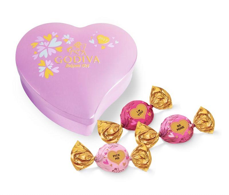 戀人絮語巧克力心形禮盒10顆裝 NT$1000