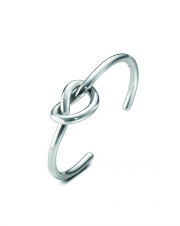 GEORG JENSEN LOVE KNOT系列 純銀手鐲 NT$10,100