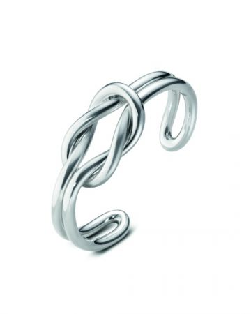 GEORG JENSEN LOVE KNOT系列 純銀手鐲 NT$15,500