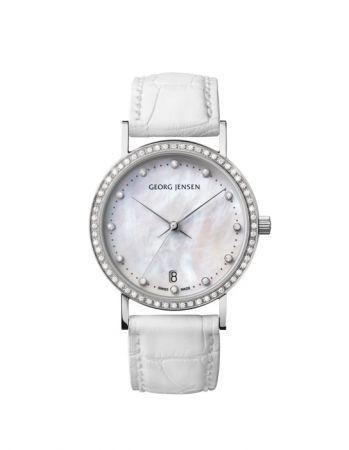 GEORG JENSEN KOPPEL系列鑽石腕錶,NT$102,000