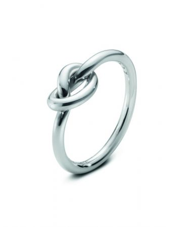 GEORG JENSEN LOVE KNOT系列 純銀戒指 NT$4,300