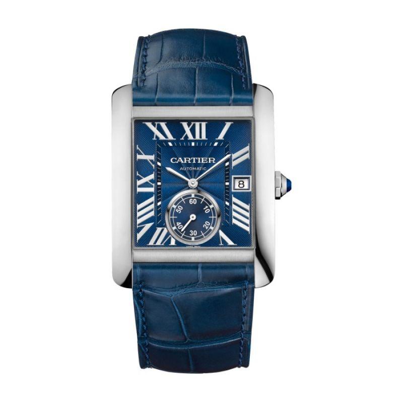 卡地亞TANK MC系列藍面精鋼腕錶,NTD 215,000