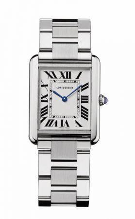 卡地亞TANK Solo系列精鋼鍊帶腕錶,NTD 86,000