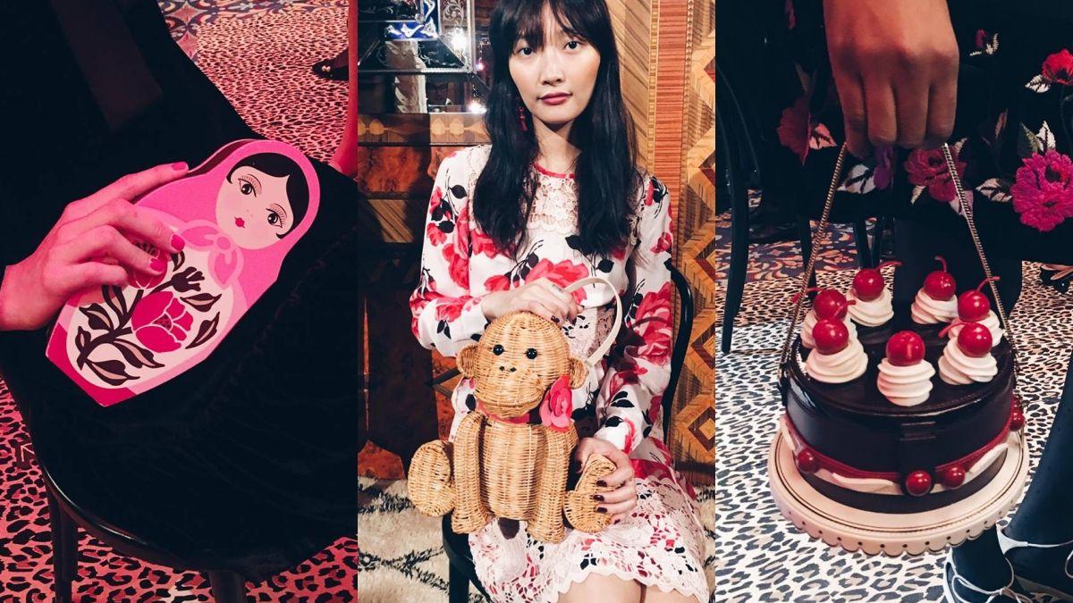 【紐約時裝周】最甜最夢幻的手袋都在這裡了!草莓蛋糕、俄羅斯娃娃…Kate Spade 2017秋冬超生火