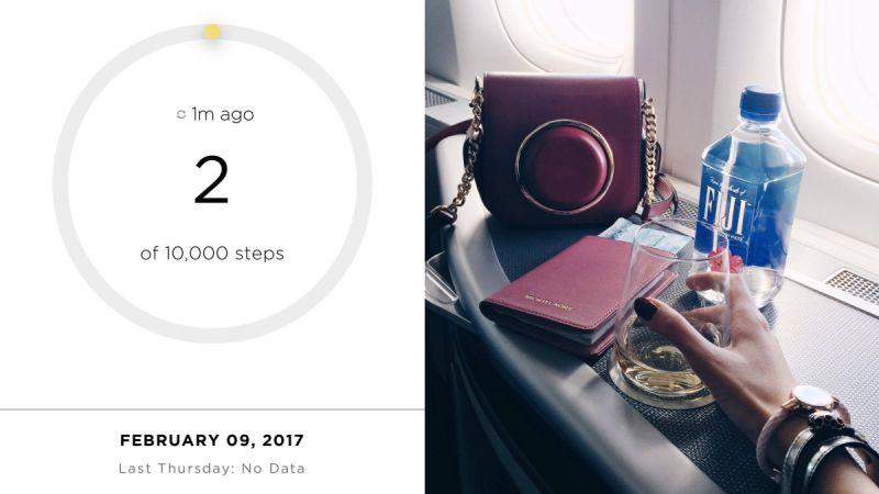 Day 12月9日,星期四這天準備搭機前往紐約了,戴上它準備開始實測之旅!