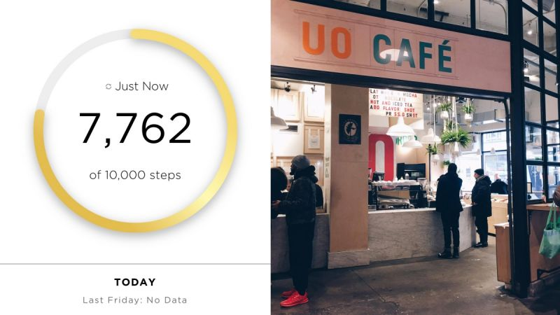 Day 22月10日,星期五逛完超市後走個五分鐘就能抵達Urban Outfitters紐約最大旗艦店,三層樓好逛到不行,一進去就走不出來,逛累還能在一樓喝杯UO咖啡~