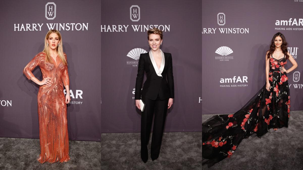 amfAR紐約慈善晚宴星光熠熠!珠寶之王海瑞溫斯頓鼎力贊助