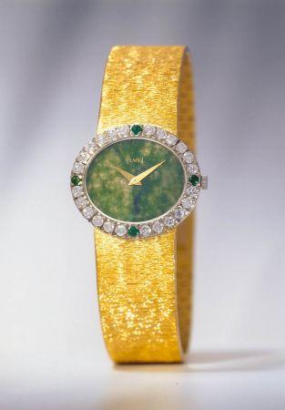 賈桂琳生前最愛的一支伯爵錶