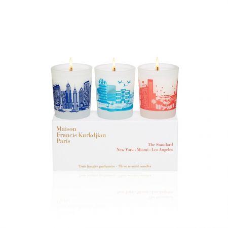 三入包裝組合,每顆蠟燭為35g,訂價1,280元,燃燒時間各為10小時
