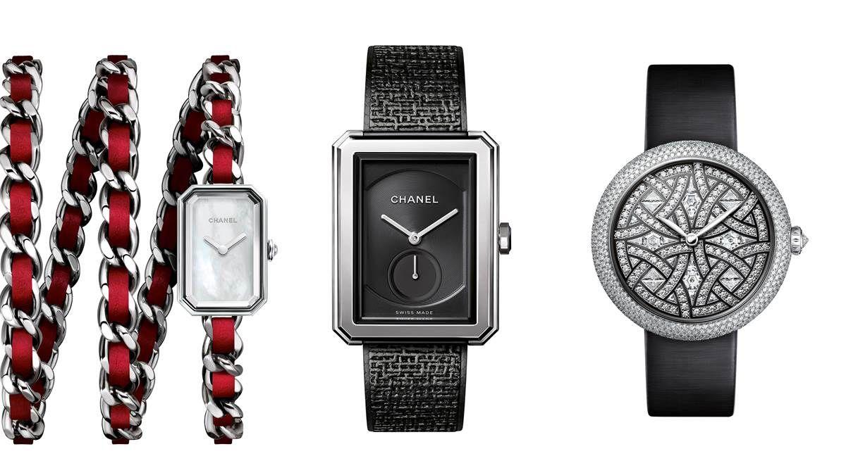 Chanel 2017年新錶五大關鍵字!30周年、鏤空山茶花、Boy.Friend、鑽石鑲嵌、Calibre 1