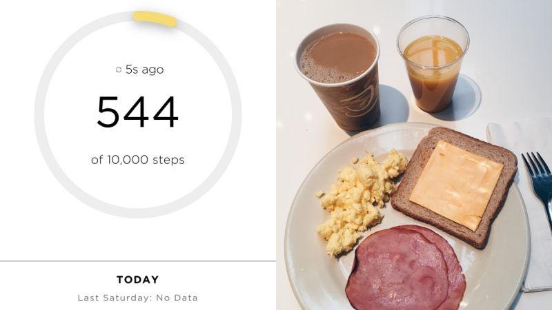 Day 32月11日,星期六一早起來,先來份飯店的簡單早餐,準備好迎接今天的工作。