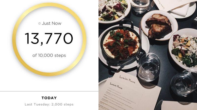 Day 62月14日,星期二晚餐跟Michael Kors和其他台灣媒體們一起去了Loring Place,很美的餐廳,味道也很棒,一吃就愛上。然後睽違多天的步數都沒達標,今天終於破萬了,以13770結束今天這回合!