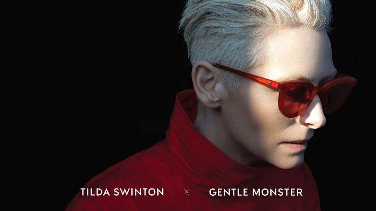 帥出新高度!Gentle Monster聯手Tilda Swinton推出聯名墨鏡