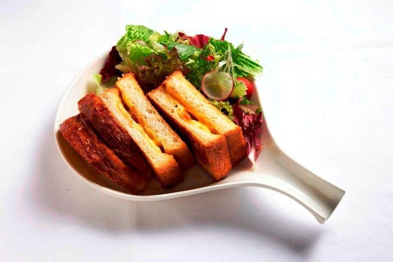 蜂蜜史帝爾頓奶油脆煎三明治,PetitDoux 微兜,NT260