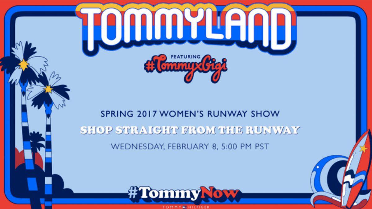 【Live】線上看!Tommy Hilfiger x Gigi Hadid春季聯名大秀,將在2/9早上9點登場
