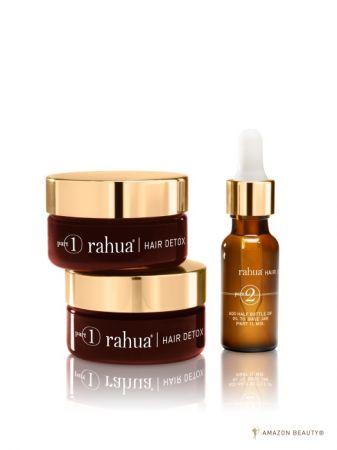rahua 神奇核果淨化重生髮浴組 NT$3950/組(深層淨化基底乳霜 45ml*2|賦活精露 15ml*1 )