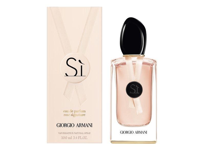 Giorgio Armani Si女性玫瑰淡香精(SÌ ROSE SIGNATURE Eau de Parfum)100ml,NT4,800(2017.3上市)