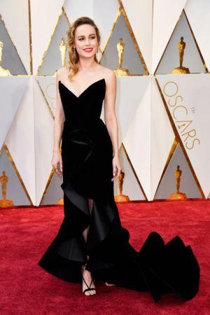 Brie LarsonIn Oscar de la Renta