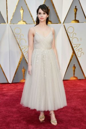 Felicity JonesIn Dior couture