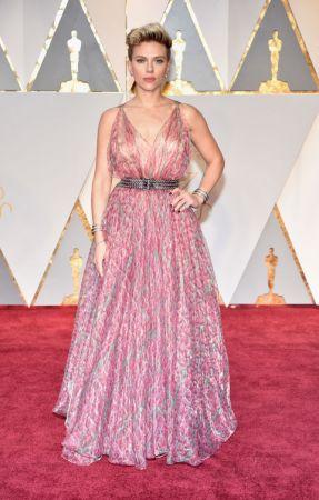 Scarlett JohanssonIn Azzedine Alaïa