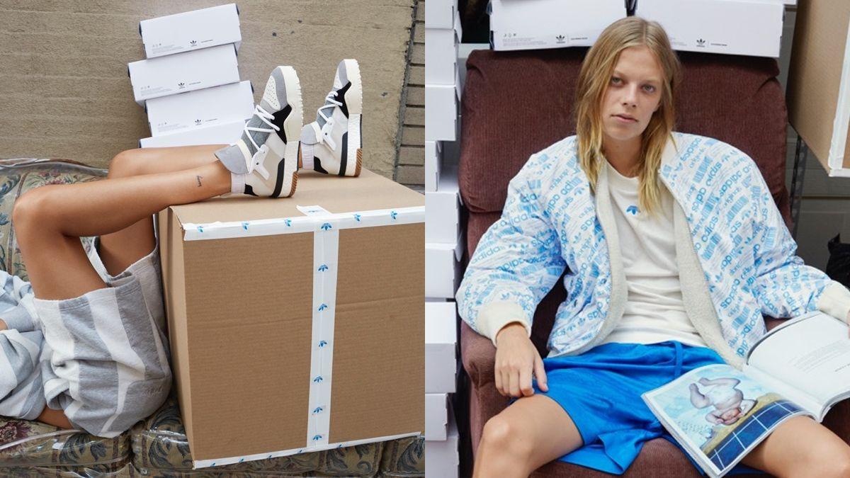 經典三葉logo被倒掛了!adidas Originals by Alexander Wang聯名系列正式登台
