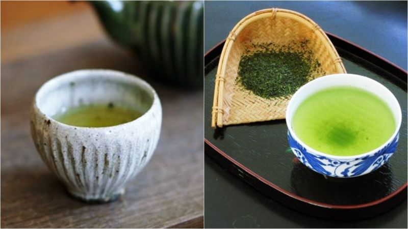 運動後 綠茶