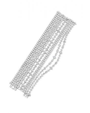 海瑞溫斯頓綺隱Secret Combination系列鑽石手鍊