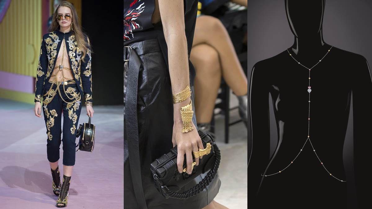 【編輯帶路】大器又性感!十足華麗、強調曲線輪廓的身體珠寶(Body Jewelry)