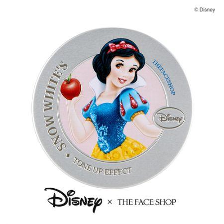 THE FACE SHOP DISNEY系列美肌亮顏飾底氣墊(白雪公主款)15g,NT980