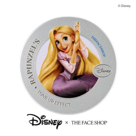THE FACE SHOP DISNEY系列美肌亮顏飾底氣墊(長髮公主款)15g,NT980
