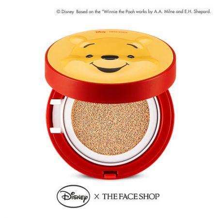 THE FACE SHOP DISNEY系列透恆水CC氣墊粉餅SPF50+‧PA+++(2色)15g,NT980