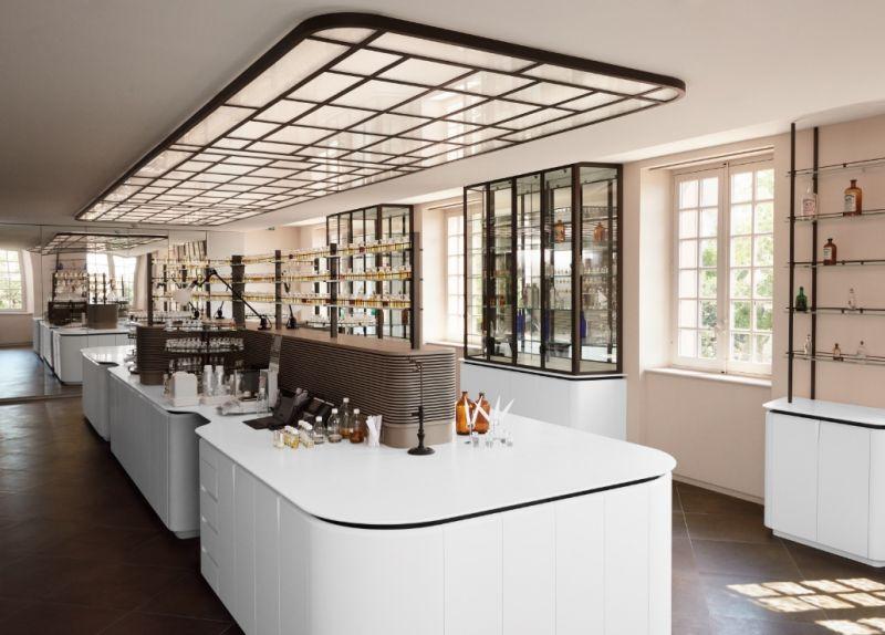 LVMH 集團香氛創作工坊香氛噴泉花了4年重新整建。