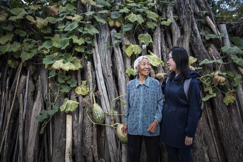 79歲的郭奶奶也參與了姜吉榕的婦女培力計畫