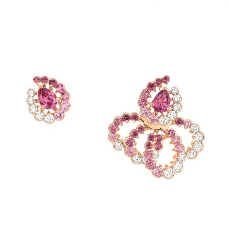 Archi Dior粉紅剛玉鑽石耳環 NT$730,000